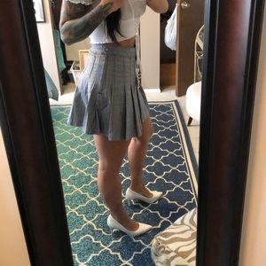H & M plaid skirt
